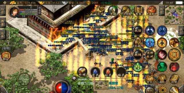 传奇sf发布网里战士与魔法师的PK