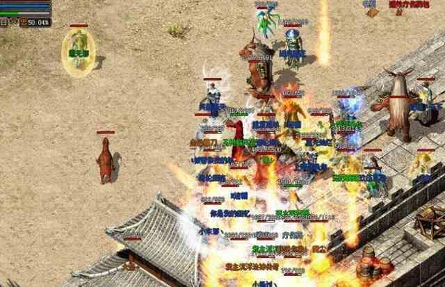 超高的新开超变传奇里攻击力和血防成了战士的依仗