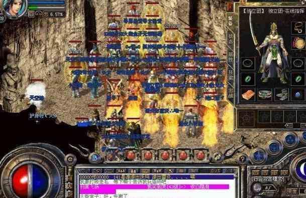 热血传奇sf的玩家非战斗不可的地图