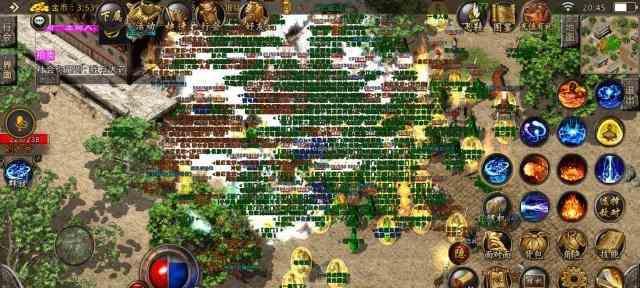 PK战斗是不可或缺的大极品传奇里游戏元素