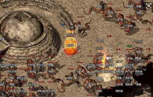 金币版传奇里游戏散人与打金玩家的玩法